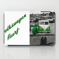 volkswagen iPad Cases featuring #volkswagen#surf by Aurian82