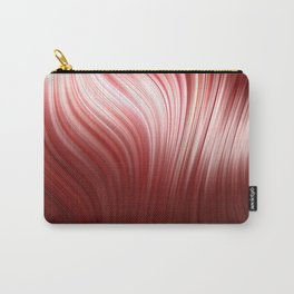 Red wave art Carry-All Pouch