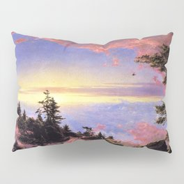 New England - Above the Clouds at Sunrise by Frederic Irwin Church Pillow Sham