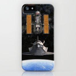 Hubble Rendezvous iPhone Case