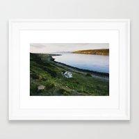 scandinavian Framed Art Prints featuring Scandinavian House by A. Serdyuk