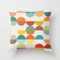 nordic Throw Pillows featuring Nordic by LHD2