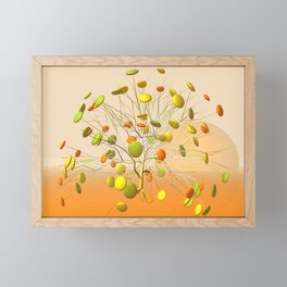 good night, sleep tight -2- Framed Mini Art Print