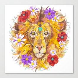Rise like a lion Canvas Print