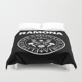 Ramona - Black Duvet Cover