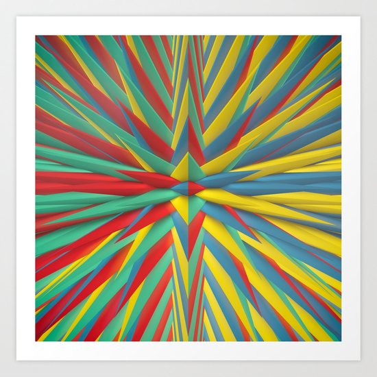 Spiked Perspective Art Print
