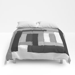 Painted Color Blocks Comforters