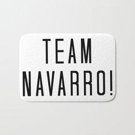 Team Navarro! Bath Mat