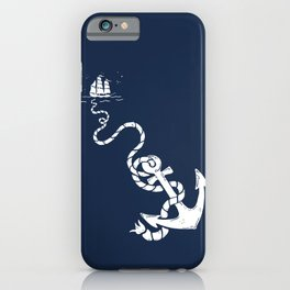 Our Anchor We Will Weigh iPhone Case