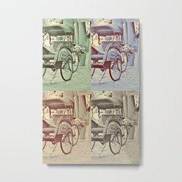 Carriages Metal Print