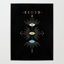 Evil Eye Totem Poster