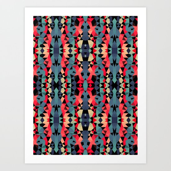 Day of the Dead Tribal Art Print