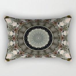 Vintage Bohemian Mandala Design Rectangular Pillow