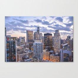 City Glow Canvas Print