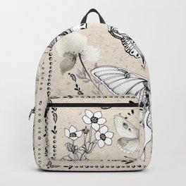 Three Moths Backpack