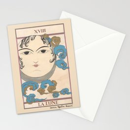 Tarot Card The Moon Stationery Cards