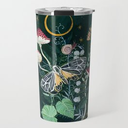 Mushroom night moth Travel Mug