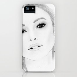 Keira Knightley iPhone Case
