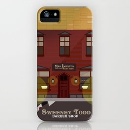 sweeney todd  iPhone Case