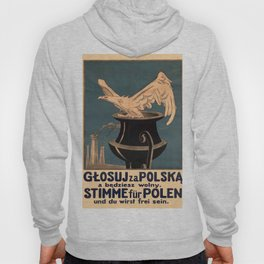 Vintage poster - Poland Hoody