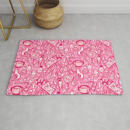 Witchy Things - Bubblegum Pink Rug