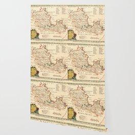 Map Of Berkshire 1758 Wallpaper