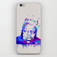 notorious big iPhone & iPod Skins featuring Notorious by Fimbis