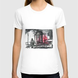 jacke the ripper in the street T-shirt
