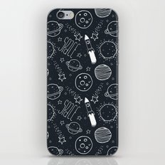 Space Doodles iPhone & iPod Skin