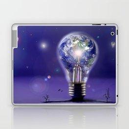 The sun is a light bulb Laptop & iPad Skin