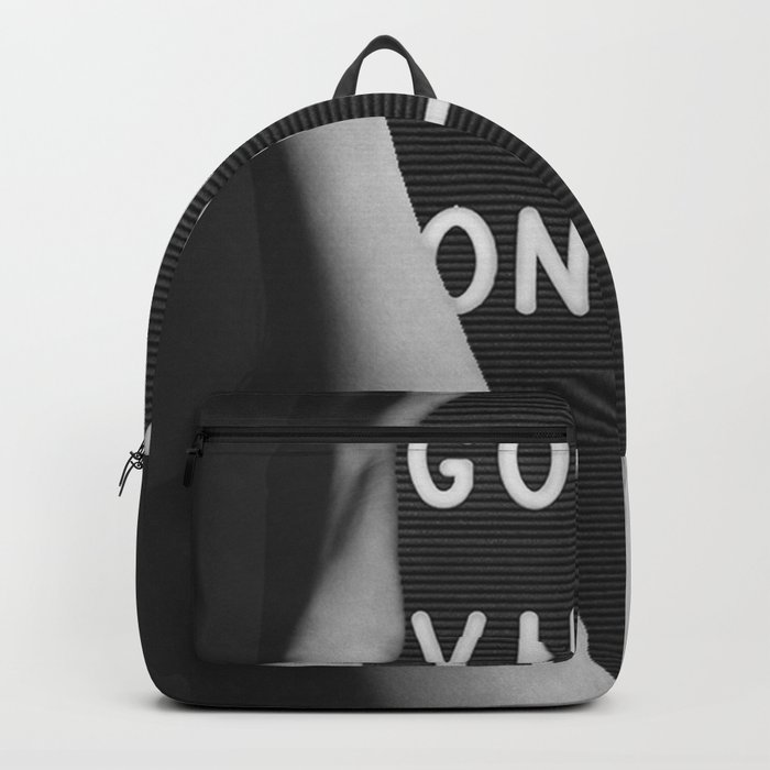 good vibes onley Backpack
