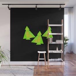 Three little trees Wall Mural