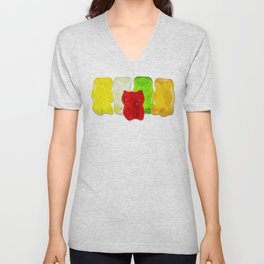Losing My Mind (The Gummie Bears Photo Original) Unisex V-Neck