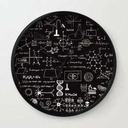 Science Madness Wall Clock