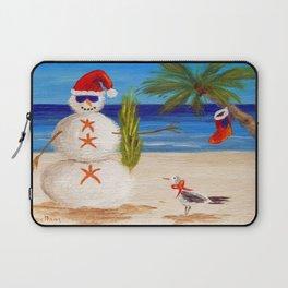 Christmas Sandman Laptop Sleeve