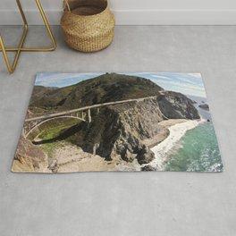 Big Sur Bridge Rug