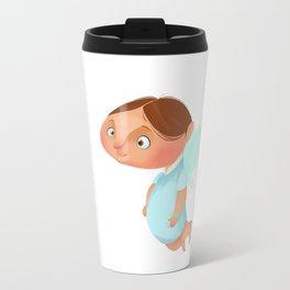 Angel Boy Travel Mug