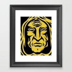 join the cult Framed Art Print