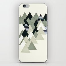 French Alps at Dusk iPhone Skin