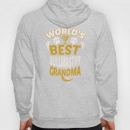World's Best Bullmastiff Grandma Hoody