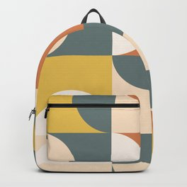 Mid Century Modern Geometric 23 Backpack