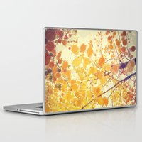 be happy Laptop & iPad Skins featuring Happy by Olivia Joy StClaire