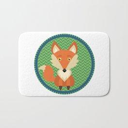 Fox Patch Bath Mat