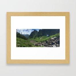 Hanes Valley Framed Art Print