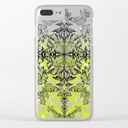 Butterfly Tail Clear iPhone Case