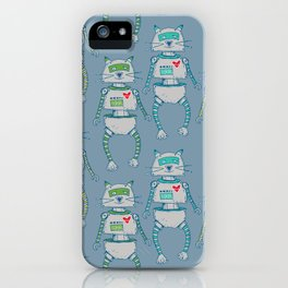 The Cat-Bot Trio iPhone Case