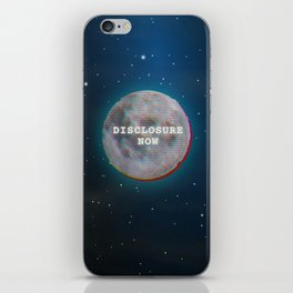 Disclosure Now Glitch Moon iPhone Skin