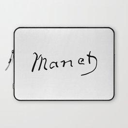 Edouard Manet's Signature Laptop Sleeve
