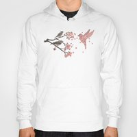 nature Hoodies featuring Blossom Bird  by Terry Fan