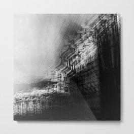 city in monochrome Metal Print